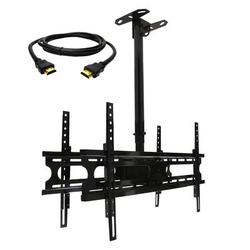 MegaMounts Ceiling Mount for Holds up to 110 lbs in Black, Size 4.25 H x 31.75 W x 30.5 D in | Wayfair 95093702M