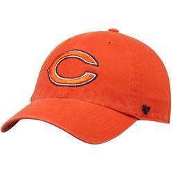 Men's '47 Orange Chicago Bears Clean Up Adjustable Hat