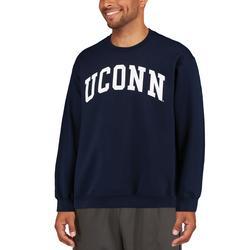 """Fanatics Branded UConn Huskies Navy Basic Arch Sweatshirt"""