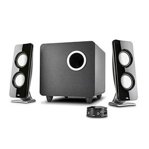 Cyber Acoustics Booming Curve Series Immersion 62W Speaker System with Control Pod (CA-3610)