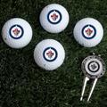 Winnipeg Jets Four Golf Ball Gift Set