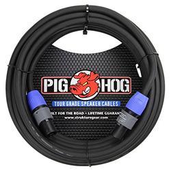 Pig Hog PHSC50SPK High Performance 14 Gauge 9.2mm speakON Speaker Cable, 50 Feet