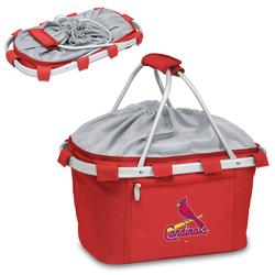 """""""Red St. Louis Cardinals Metro Basket Collapsible Tote"""""""