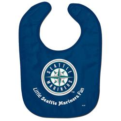 """Infant WinCraft Seattle Mariners Lil Fan All Pro Baby Bib"""
