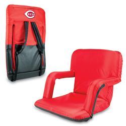 """Red Cincinnati Reds Ventura Seat Portable Recliner Chair"""