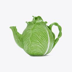 Tory Burch Lettuce Ware Teapot, Green