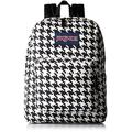 JanSport Mens Classic Mainstream High Stakes Backpack - White Black Houndstooth Corduroy / 16.7H X 13W X 8.5D