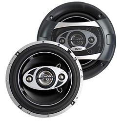 """2 New BOSS Audio P65.4C 6.5"""" 4-Way 400W Car Coaxial Speakers Stereo P654C"""