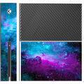 Trendy Accessories Nebula Galaxy Space Design Pattern Print Xbox One Console Vinyl Decal Sticker Skin