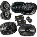 """Kicker for Dodge Ram Crew Cab 2012+ Bundle- CS 6x9 Components, CS 6x9 coaxials, and CS 3.5"""" coaxials"""
