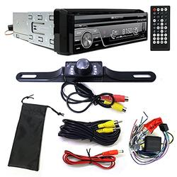 """Soundstream VIR-7830B Single-DIN Bluetooth Car Stereo DVD Player w/ 7"""" LCD Touchscreen and Rear View Camera"""