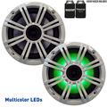 "KICKER 6.5"" White LED Marine Speakers (Qty 2) 1 Pair of OEM Replacement Speakers"
