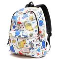 School Backpack for Girls Boys Cute Cat Waterproof Laptop Bag Leisure College Student Bookbag Women Travel Daypack
