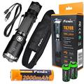EdisonBright Fenix TK20R USB Rechargeable 1000 Lumen Cree LED Tactical Flashlight with, 2900mAh Rechargeable Battery, USB Charging Cable and 2 X Lithium CR123A Back-up Batteries Bundle