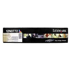 Lexmark 12N0772 OEM Developer - C910 C912 C920 X912e Color Photodeveloper Set (28000 Yield per Color - C/M/Y) OEM
