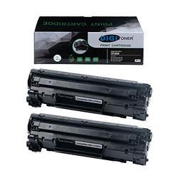 TonerPlusUSA Compatible High Yield Toner Cartridge HP CF283X Canon CRG137 Toner Cartridge - HP CF 283X Canon CRG 137 High Yield Toner Cartridge Replacement for HP Laser Printer - Black [2 Pack]