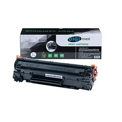 TonerPlusUSA Compatible CE285A CB435A CRG125 Toner Cartridge Replacement for HP 85A 35A 36A CB436A 125 for HP P1102w M1212NF M1217nfw P1505 M1522nf P1109w P1006 MF3010 [1 Pack,Black]