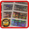 Holomarks 250 pcs Warranty Seals, Security Hologram Stickers, Void Tamper evident Labels 1.25 x .59 Inch