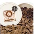 Chocoley Molding Chocolate - 5 Lbs - Bada Bing Bada Boom Candy & Molding Formula - 2 x 2.5 Lb Tubs of Dark, Milk, or White Chocolate (Dark Chocolate)