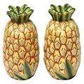 CG SS-CG-10338, Pair of Identical Yellow Pineapple Salt and Pepper Shakers