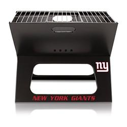 NFL New York Giants Portable Collapsible Charcoal X-Grill