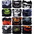 VANCROWN Headwear Head Wrap Sport Headband Sweatband 220 Patterns 12 in 1 Magic Scarf 12PCS & 6PCS 12 in 1 (12PCS.Skeletons)