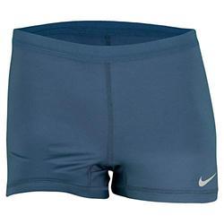 Nike Slam Tennis Short (Blue/Matte Silver, Medium)