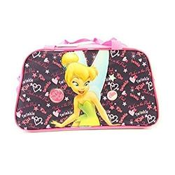 Disney Tinkerbell Girls Large duffle Bag/Gym Bag/Travel Bag - Pink