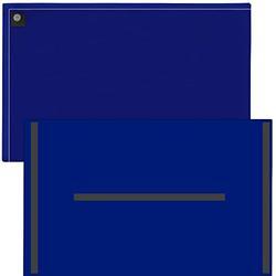 "StoreSMART Magnetic Closure Pockets - Magnetic-Back - 11"" x 17"" - 10-Pack - Blue - MCP3512MB-B-10"