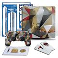 Controller Gear Uncharted 4 Madagascar - PS4 Slim Vertical Console & Gaming Skin Pack - Officially Licensed