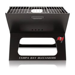 NFL Tampa Bay Buccaneers Portable Collapsible Charcoal X-Grill