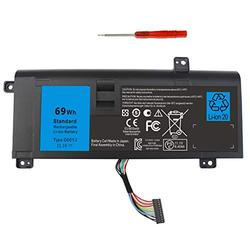 Compatible G05YJ Alienware 14 Battery Replacement for Gaming Laptop Dell Alienware 14 M14x R3 R4 A14 14D-1528 ALW14D-5528 ALW14D-1528 14D-5528 Y3PN0 P39G 0G05YJ ALW14D 8X70T PC Computer Batteries.
