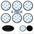 6-Pack Ramtech 90mm 3M PE Foam Tape Car Dash Dashboard Adhesive Sticky Suction Cup Mount Disc Disk Pad For GPS / Mobile Cell Phone / Car DVR / MP4 / Tablet PC / Car DVR / MP4 / E-book.- DMD90