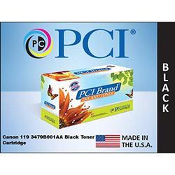 PCI Brand Compatible Toner Cartridge Replacement for Canon 3479B001AA Cartridge-119 Black Toner Cartridge 2.3K Yield