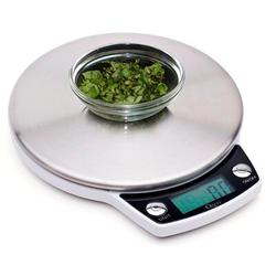 Ozeri Precision Pro Digital Kitchen Scale Stainless Steel in Gray, Size 0.7 H x 6.0 W in   Wayfair ZK011
