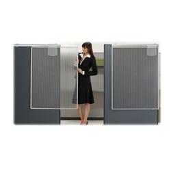 Acco Brands, Inc. Quartet Lightweight Workstation 1 Panel Room Divider Plastic in Gray, Size 48.0 H x 36.0 W x 1.3 D in | Wayfair WPS1000