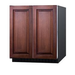 Summit Appliance Summit 5.4 cu. ft. Convertible Mini Fridge w/ Freezer in Black, Size 34.0 H x 29.5 W x 24.13 D in   Wayfair FFRF3070BIF
