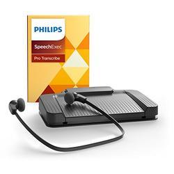 Philips LFH7277/07 USB SpeechExec Pro Version 10.0 Transcription Set 7277 with Speech Recognition Module