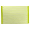 True & Tidy Roll-Up Stainless Steel Drain TrayStainless Steel in Gray, Size 0.25 H x 20.5 W x 13.1 D in | Wayfair DR-881 Lime