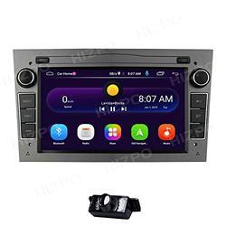 "7"" In Dash Double din Android 10 Car GPS Stereo Audio Video Receiver Player for Opel Vauxhall Vectra Astra Antara Zafira Corsa Meriva Vivaro Bluetooth Radio USB + Rear Camera"