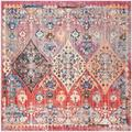 World Menagerie Culross Rose Area Rug in Pink, Size 84.0 H x 84.0 W x 0.32 D in   Wayfair WLDM1082 34876249