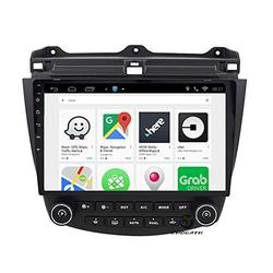 ChoGath 10.2 Inch 2G RAM Android 9.0 Car Audio GPS Navigation for Honda Accord 7 2003-2007 Head Unit with 1080P Video Bluetooth Mirror Link
