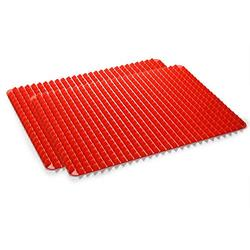Wolecok Silicone Baking Mat Pyramid, Cooking Pan Oven Tray Baking Sheet Pastry Cooking Mat 2 Pack