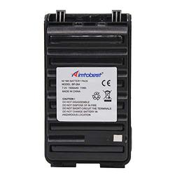 BP264 BP-264 1500mAh Ni-MH Battery Compatible for ICOM IC-T70A IC-F4001 IC-F4003 IC-F3001 IC-V80 IC-U80 IC-F3101D IC-F3103D IC-F4101D IC-F4103D BP265 BP-265 with Belt Clip