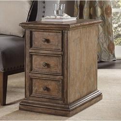Birch Lane™ Lieberman 3 Drawer Accent Chest Wood in Brown, Size 25.0 H x 16.0 W x 24.0 D in | Wayfair 5291-80114
