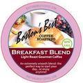 Boston's Best Breakfast Blend Coffee K-Cup, Compatible with Keurig, Cuisinart, Black + Decker, Hamilton Beach and Mixpresso, Light Roast, 72 Count, Single Serve, BPA Free, Gluten Free, Kosher