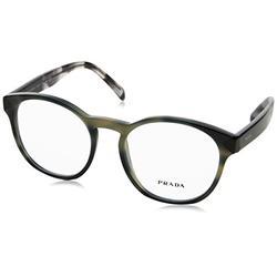 Prada PR 16TV - USI1O1 Eyeglass Frame STRIPED GREY 52mm