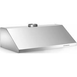Bertazzoni KU36PRO1/14 600 CFM 36 Inch Wide Under Cabinet Range Hood with Mesh Filters and Halogen