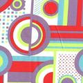 Latitude Run® Balbuena Futon Slipcover Cotton/Cotton Blend in Green/Indigo/Red, Size 28.0 H x 54.0 W in | Wayfair LRUN3926 39312837