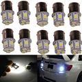 ABy 10PCS White 1156 5050 8SMD LED Replacement Bulb For Turn Signal Light,Reverse Light, Brake Light, Running Light, Tail Light, Corner Light,Parking Light, Side Marker Lights